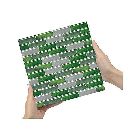 ZSFBIAO Pegatinas para Azulejos Adhesivo de Vinilo Decorativo Adhesivo Decorativo para baño y Cocina Adhesivos de Cemento pelar y Pegar (Size:20cm*20cm,Color:50pcs)