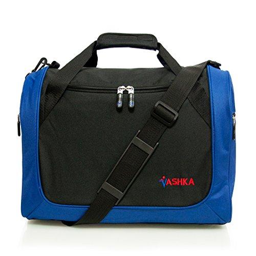 Vashka - Azul Mano Equipaje para WizzAir 42cmx32cmx25cm