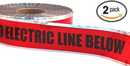 electric cable warning tape