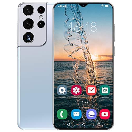 PEARFALL Teléfonos móviles, 6,7 Pulgadas de Gotas de rocío Smartphones SIM Desbloqueado Gratis, 5G Dual SIM Android 11, 4GB RAM 512GB ROM, cámara de 32MP + 50MP
