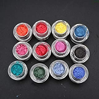 Soap Dyes - 12Pcs Thermochromic Pigment Resin Magic Powder Color Change Resin Jewelry Making PXPC