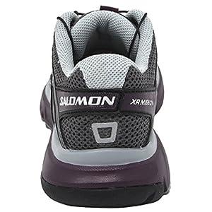 Salomon Women's XR Mission Trail Running Shoe (8 B(M) US, Magnent/Black/Purple)