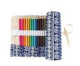 SKKSTATIONERY 48 Pcs Colored Pencils, Bonus Pencil...
