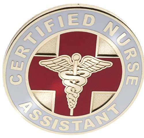 CNA Certified Nurse Assistant Hat or Lapel Pin PMS700 F4D9F