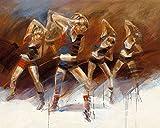 Kunstdruck/Poster: Kitty Meijering Dance up - hochwertiger Druck, Bild, Kunstposter, 30x24 cm