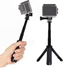Extendable Selfie Stick Tripod for Gopro,SH SHIHONG Mini Telescopic Handheld Pole Monopod for Gopro Shorty GeekPro/GoPro HD Hero 7 6 5 4 3+ 3 2 1,AKASO, SJCAM SJ4000 SJ5000 and Most Action Camera