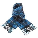 Clans of Scotland - Sciarpa in pura lana vergine, motivo Tartan Clergy antico Taglia unica