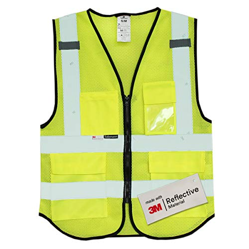 Salzmann 3M Multi-Pocket Safety Mesh Vest