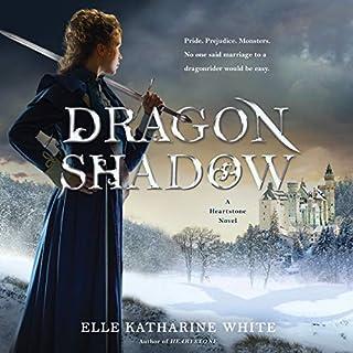 Dragonshadow audiobook cover art