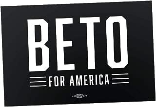 Official Logo Beto for America Vinyl Sticker (6