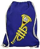 Hariz - Bolsa de deporte con tarjeta de regalo, color azul real, tamaño talla única