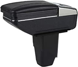 YJYWZH Console Armrest Box with Cup Holder and Ashtray for Peugeot 206 207 2005-2013