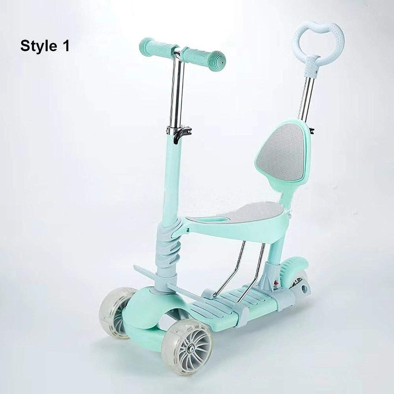 Venta al por mayor barato y de alta calidad. LIJIAN Scooter de de de Niños Cochecito Tres-en-uno Cocherito De Scooter Liftable - Cochega 75KG STTYLE 1  bienvenido a elegir