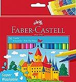 Faber-Castell 554203 - Estuche cartón con 36 rotuladores escolares