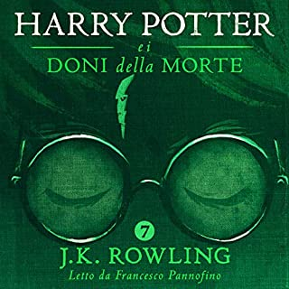 Couverture de Harry Potter e i Doni della Morte (Harry Potter 7)