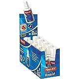 Bic Tipp-Ex Rapid Correttore Liquido con Applicatore in Schiuma di Lattice Confezione 10 Correttori