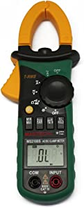 Mastech MS2108 True-RMS AC DC Clamp Meter with Inrush Current Measurement