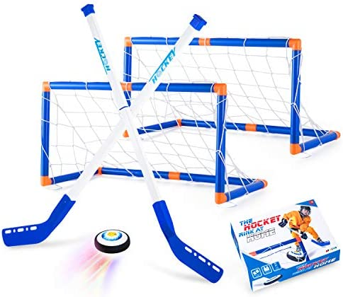 Boys Toys Hover Hockey Set Hockey Ball Set for Indoor Games Air Power Training Ball Playing product image