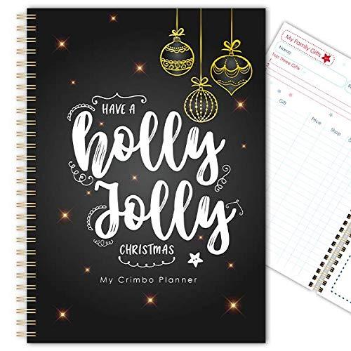 My Crimbo Planner - Agenda natalizia, realizzata a mano, formato A5 (14,2 x 21,1 cm) Maglione festivo.