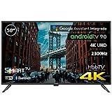 "INFINITON INTV-58MA1300 – Televisor Smart TV 58"" 4K UHD – Android 9.0 Google – HBBTV – 4X HDMI – 3X USB - DVB-T2/C/S2 - Modo Hotel – Clase A+"