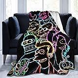 Futurama Bender Hooded Blanket Anti-Pilling Flannel Wearable Blanket Hoodie-Plush Warm Blanket Throw Blankets Adult Kids