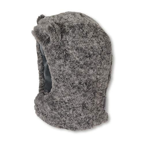 Sterntaler Schalmütze für Jungen aus Fellimitat mit abstehenden Bären-Öhrchen, Alter: 4-5 Monate, Größe: 41, Grau