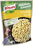 Knorr Hüttenschmaus Schinken Hörnli Nudel-Fertiggericht 2 Portionen (Verpackung Sortiert) (5 x 156 g)