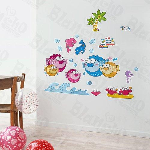 Poissons tropicaux 3 – Patchs à XL Stickers muraux Stickers Home Decor