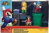 Nintendo Super Mario, Set Diorama Subterráneo Playset con Figuras, Multicolor (Jakks Pacific 404264)