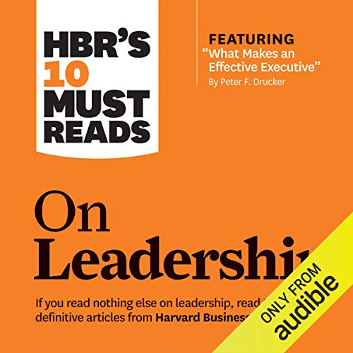 Page de couverture de HBR's 10 Must Reads on Leadership