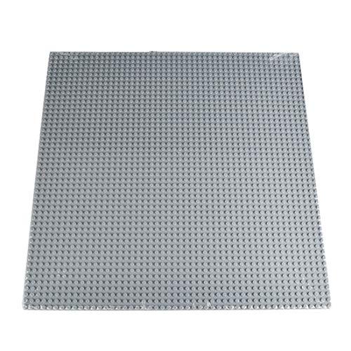 Rolanli Bauplatten, 50 x 50 Loch Stapelbare Bauplatten für Straßen, Städte, Garagen und Mehr (40 x 40cm)