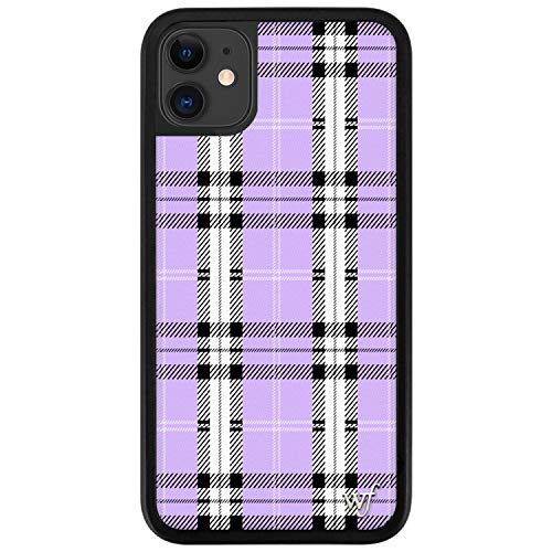 Wildflower Limited Edition Cases Compatible with iPhone 11 (Lavender Plaid)