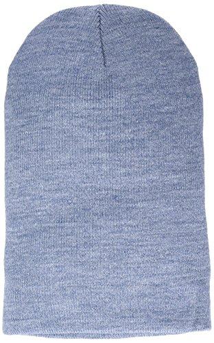 MSTRDS Bonnet Unisexe Basic Flap Version Longue. Taille Unique Indigo
