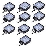 10x Las luces LED resistente al agua Spotlight IP65 48W luz de trabajo del Lampara de coch...
