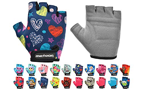 meteor Kid Cycling Gloves With S...