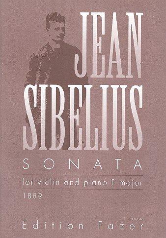 Sonate F-Dur : für Violine und Klavier