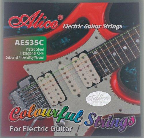 farbige Saiten, Gitarrensaiten für E-Gitarre 535C