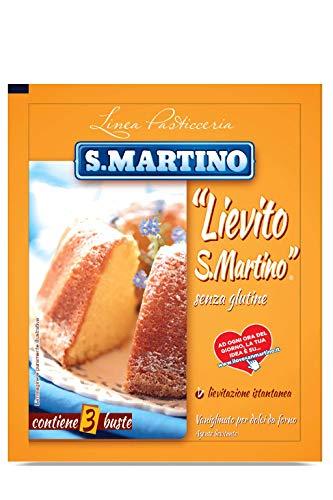 S.Martino - Lievito Tradizionale Vaniglinato, per Dolci Da Forno, Agente Lievitante , 48 g