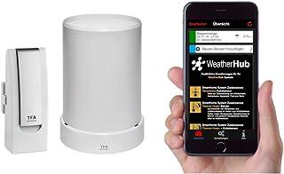 TFA Dostmann Estación meteorológica Smartphones Starter-Set 3 con Regensender, Consta de 4 x 2,8 x 10,4 cm, 31.4003.02