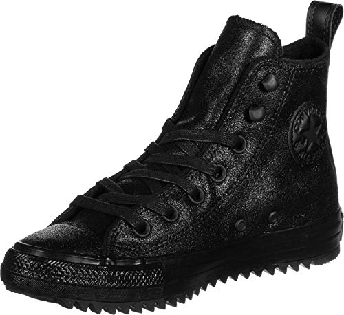 Converse Chuck Taylor All Star Hiker Waxed Suede Boot Hi Trainers Women Black - 4 - High Top Trainers Shoes