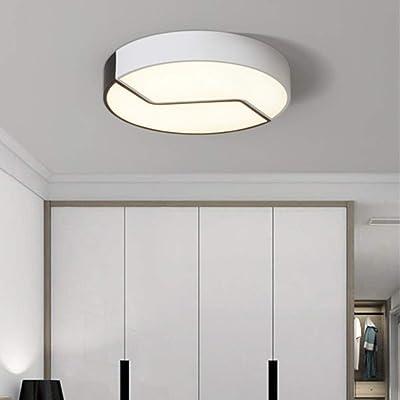 ZHML-Ceiling Lamp Lampe Plafonnier, Plafonniers Nordic LED Plafonnier Personnalité Créative Salon Chambre Plafonnier Plafonnier Simple Moderne Lampes Ménagers [Classe Énergétique A ++]