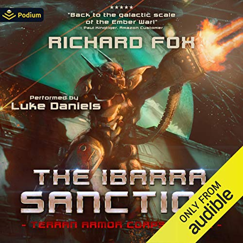 The Ibarra Sanction Audiobook By Richard Fox cover art