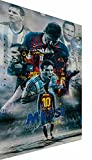 Magic Canvas Art - Bilder Lionel Messi FC Barcelona