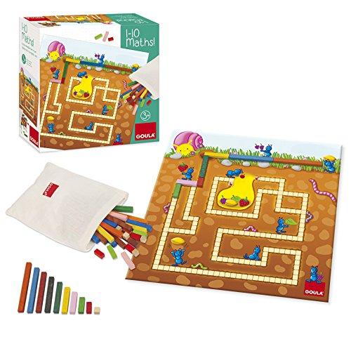Jumbo Spiele D53405 - 1-10, Mathe, Lernspielzeug