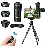 Best Smartphone Camera Lenses - Phone Camera Lens, 4 in 1 Cell Phone Lens Review