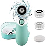 [NEWEST 2018] Facial Cleansing Brush with 5 Face Brush Heads,KOOVON Waterproof Electric Spin...