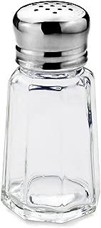 New Star Paneled Salt and Pepper Shaker Mushroom Top, 1-Ounce, Set of 24