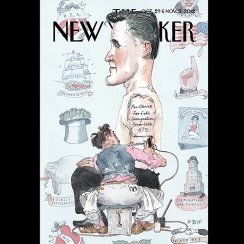 The New Yorker, October 29th & November 5th 2012: Part 1 (George Packer, Ryan Lizza) audiobook cover art