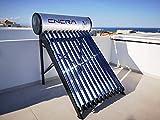 ENERA Calentador Solar de Agua (termosifón Solar) con Tubos de vacío Heat-Pipe (150 litros)