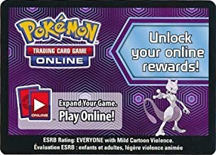 Pokemon - Mewtwo Collection Box Unused Code Card TCGO Code Cards
